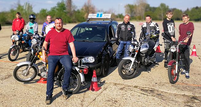Autós motoros oktatás Mohács BD Autósiskola